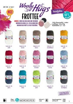WOOLLY HUGS Frottee 50g